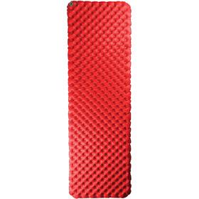 Sea to Summit Comfort Plus Insulated Mat Large Rectangular Red